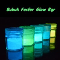 Bubuk Fosfor Glow Strontium 8gr / Glow in the dark