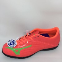 Sepatu futsal Mizuno basara 103 IN fiery coral/summer green/black 2018