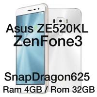 Asus Zenfone3 ZE520KL 4GB/32GB SnapDragon525 Garansi Resmi