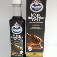 Madu Hitam Pahit Extra Plus Propolis Mazied Premium 470g