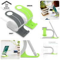 Stand Holder Charging Dock Plastic for Apple Watch 38mm 42mm iPhone