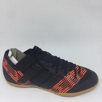 Sepatu futsal Adidas Original Nemeziz 17.3 IN Black Orange 17.3 2018