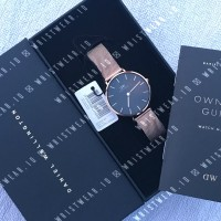 Daniel Wellington DW Classic Petite Melrose Sterling ORIGINAL AUTHENTI