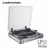 Audio Technica AT LP60 GM Fully Automatic Belt Drive Turntable Gun M