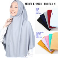 Hijab Jilbab Instan Najwa Khimar XL - Kerudung Instan Najwa Khimar XL