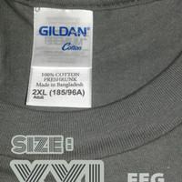 Kaos Polos Size XXL XXXL Gildan Premium Cotton 76000 Import Original