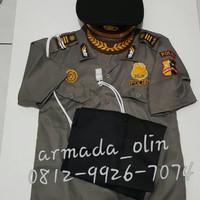 Seragam anak Jendral Polisi No 5-6 / Baju karnaval Polisi