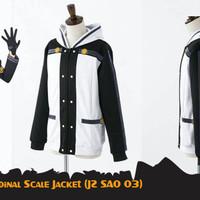 Jaket Anime Kirito JZ SAO 03 Ordinal Scale Jacket
