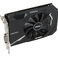 cuci gudang MSI GeForce GTX 1050 2GB DDR5 - AERO ITX 2G OC