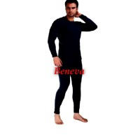 longjohn pria atau baju musim dingin warna hitam