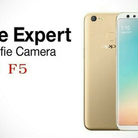 HP OPPO F5 (F 5 RAM 4/32 GB) GARANSI RESMI ORIGINAL - GOLD & BLACK
