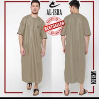 Gamis pria/ jubah pria/ jubah arab/ gamis lengan pendek