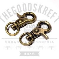 Snap Hook ATG |cantolan kaitan tas leather lanyard