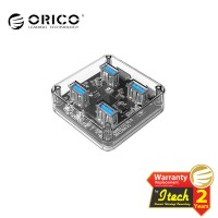 ORICO MH4U-U3 USB3.0 Transparent Desktop HUB
