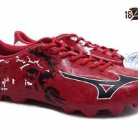 Sepatu Bola Mizuno Ryuou MD FG Chinese Red - Art P1GA189009