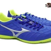 Sepatu Futsal Mizuno Rebula V3 IN Strong Blue - Art P1GF188509