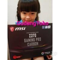 murah meriah MOTHERBOARD MSI Z370 GAMING PRO CARBON