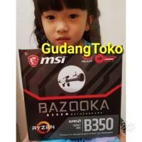 harga termurah MOTHERBOARD MSI B350M BAZOOKA AMD RYZEN