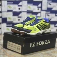 Sepatu Badminton Original Asli Murah Forza Ultimate Shoes Neon Kuning