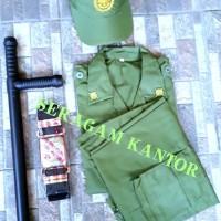 seragam linmas lengkap/baju linmas/pakaian linmas/hamsip