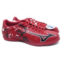 Sepatu Futsal Mizuno Ryuou IN (Chinese Red/Black/White)