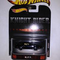 Hot Wheels Knight Rider KITT Retro Ban Karet