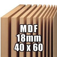 Papan Kayu MDF 18mm Ukuran (40x60)cm