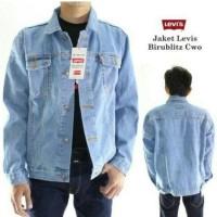 Jaket pria levis / jeans / jin / tebal XXL XXXL