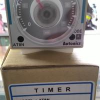 Timer AT8N Merk Autonic.100-240VAC(24-240VDC) 45x45mm