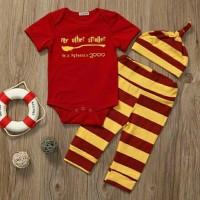 Set harry potter nimbus 2000   baju anak bayi import murah