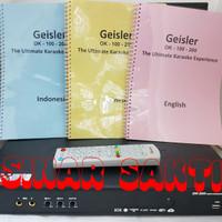 GEISLER OK 200 DVD PLAYER KARAOKE ( SUPPORT SMARTPHONE )