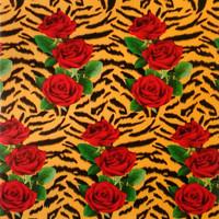 Selimut Bulu Karakter 160x200 Lady Rose Motif Ros Tiger/Bedcover/Sprei