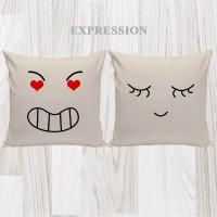 Bantal Hias Dekorasi Valentine - Expression