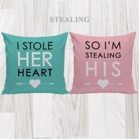 Bantal Hias Dekorasi Valentine - Stealing