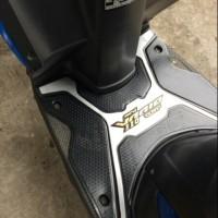 Variasi Body Motor Karpet NEW Honda Vario 110 ESP Tebal Silver