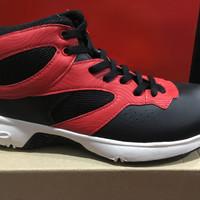 promo sepatu basket piero commander warna hitam merah ORIGINAL