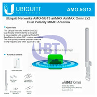 Ubiquity AMO-5G13 airMax Omni 5GHz 13dBi 360 Antenna