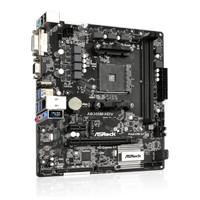 Motherboard AMD ASROCK AB350M-HDV (AM4, AMD Promontory B350, DDR4)