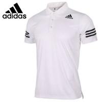 Polo Shirt / Kaos Kerah Adidas White