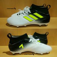 Adidas Ace 17.3 FG - White Yellow   Sepatu Bola Adidas Lapangan Besar