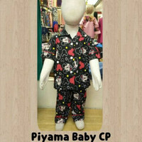 piyama anak mikey mouse/ baju tdr anak-bayi/pajamas baby
