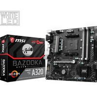MSI A320M Bazooka (AM4, AMD Promontory A320, DDR4, USB3.1, SATA3)