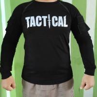baju kaos tactical tektical taktikal BDU COMBAT lengan panjang sablon