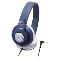 Audio-Technica ATH-S500 NV Street Monitoring Headphone -Navy