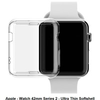 Apple Watch iWatch 42 mm 42mm Series 2 Soft Case Cover Bumper Silikon