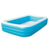 Kolam Renang Anak Jumbo (305 cm ) Kotak Polos # 54009 bestway / Kotak