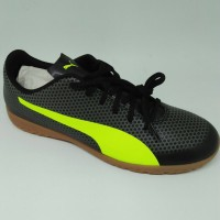 Sepatu futsal puma original Spirit IT black stabilo new 2018