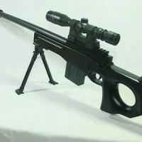 Sniper L96 Magnum AWP Black Airsoftgun Spring