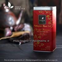 Savis Tea - Premium Royal Princess Tea KALENG 60gr Teh Hijau Melati