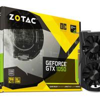 ZOTAC Geforce GTX 1050 OC (Overclock) 2 GB 128 Bit DDR5 - Dual Fan